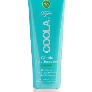 COOLA  Classic Face Organic Sunscreen Lotion SPF 30 Cucumber